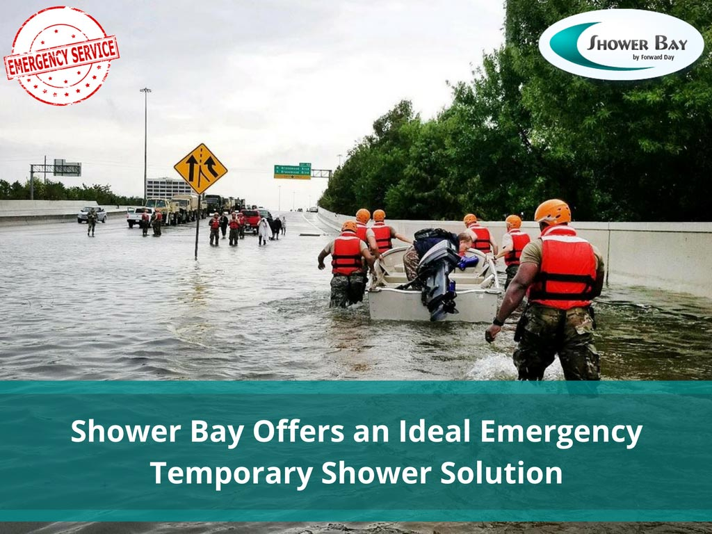 Shower Bay Offers An Ideal Emergency Temporary - Santa Cruz CA
